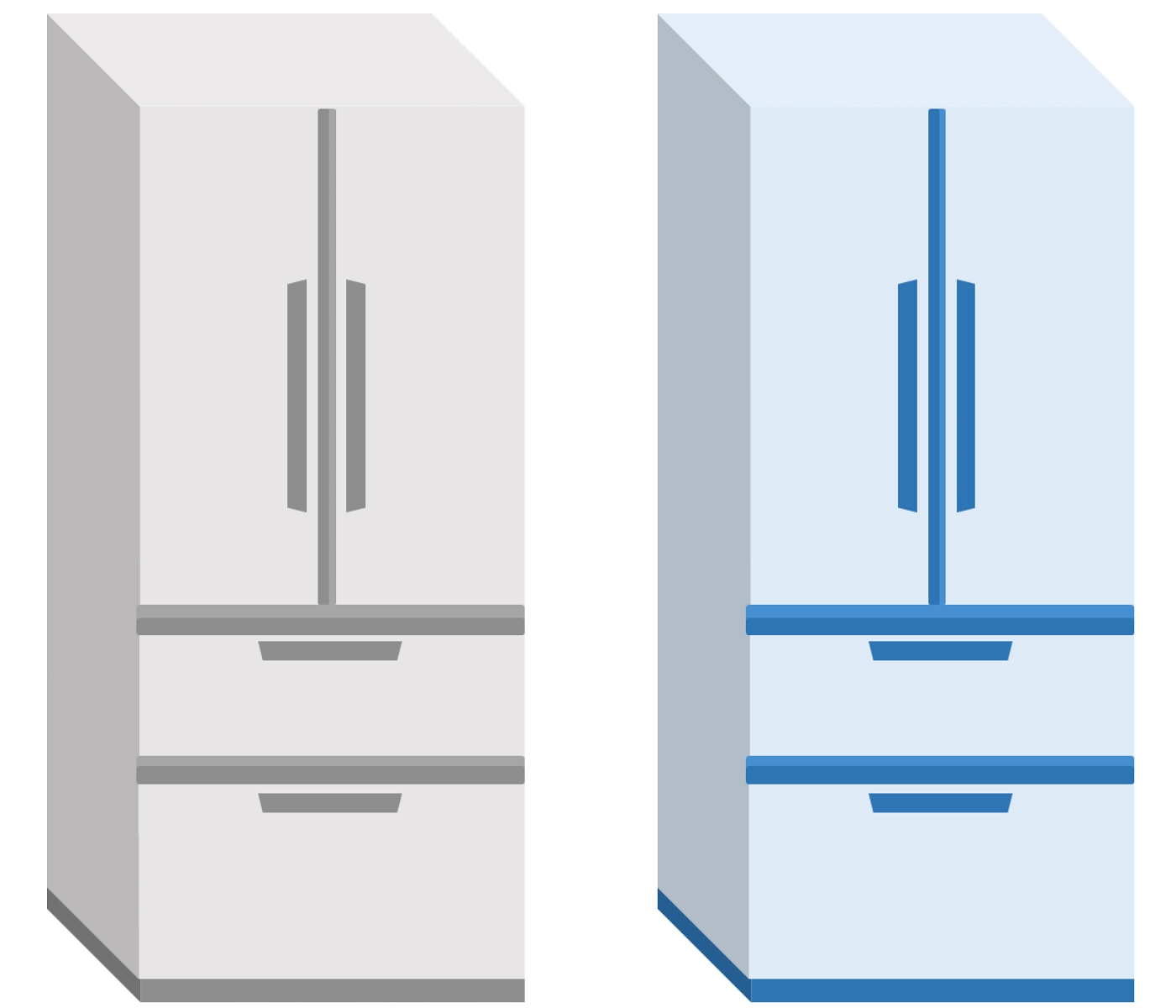 冷蔵庫のイラスト