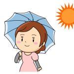 紫外線対策!折りたたみ日傘と長傘はどっちが便利?選び方のコツ。