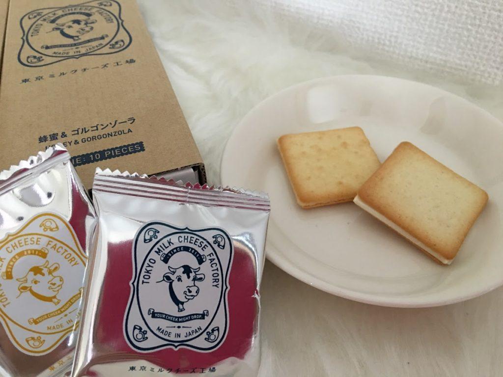 東京ミルクチーズ工場のクッキー