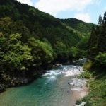 板取川の風景