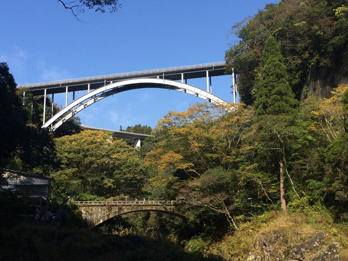 高千穂峡からの景色