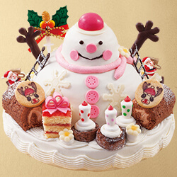 ゆめタウンのクリスマスケーキ