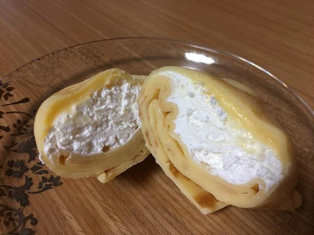 パオクレープミルクのカスタード味