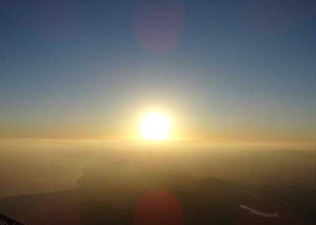 大分鶴見岳からの初日の出