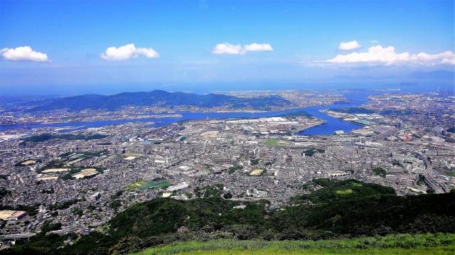 皿倉山からの景色