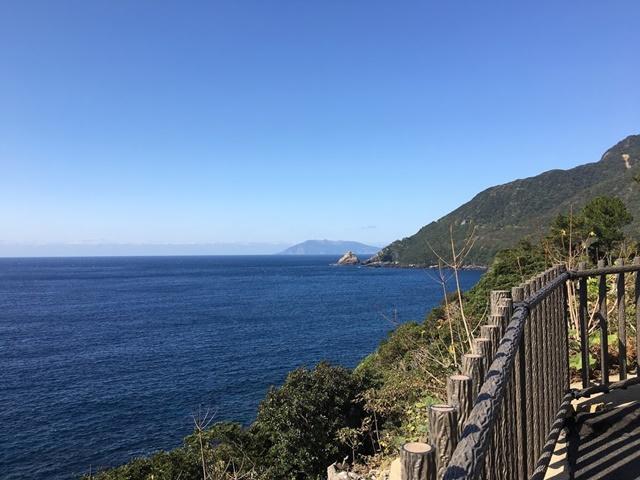 屋久島から見た口永良部島