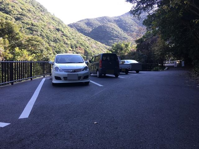 大川の滝駐車場