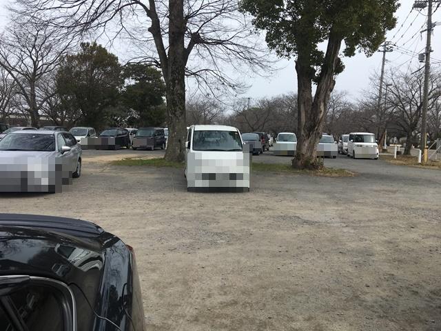 中津城第三駐車場