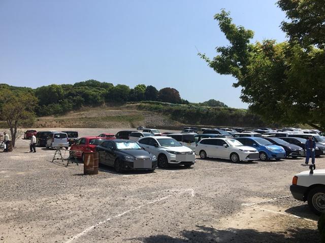 千財農園の駐車場