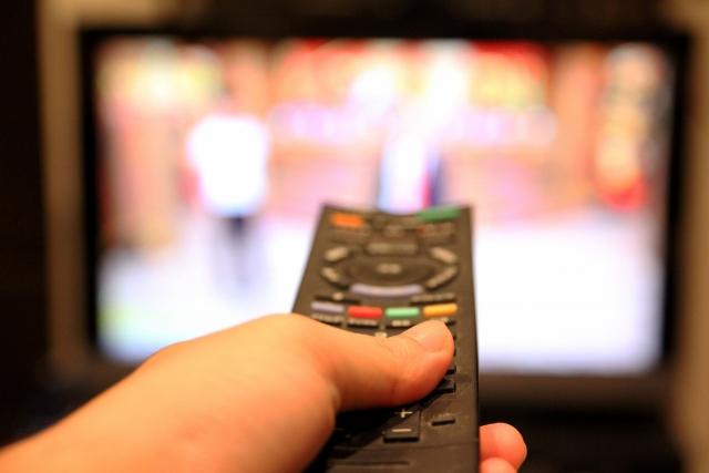 テレビのチャンネルを切り替える