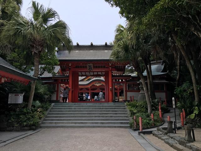 青島神社に