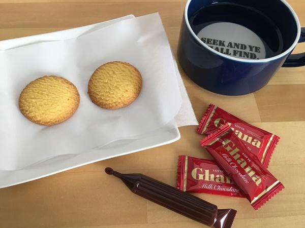 チョコペンでクッキーに文字を書こう!