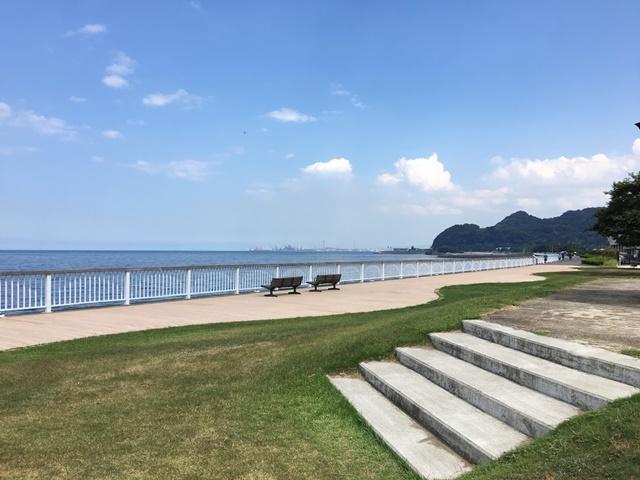 うみたまご周辺の海沿いお散歩コース