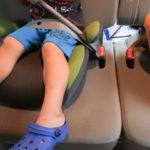 乗り物酔いする子供の初期症状の見分け方と対策、薬は必要?