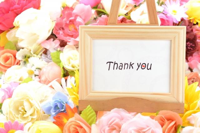 母の日の感謝のメッセージと花
