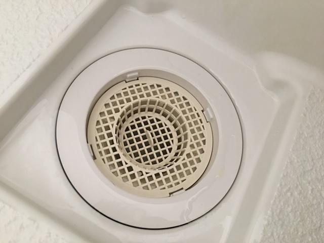 お風呂場の排水口(目皿)