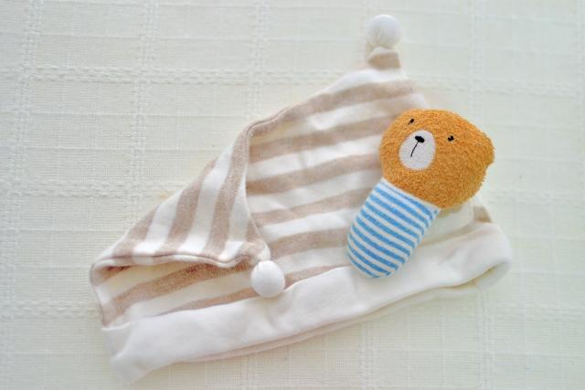 赤ちゃん用ナイトキャップ