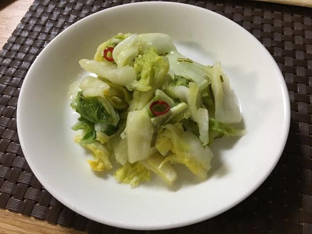 白菜のつけもの